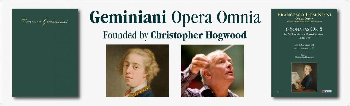 Francesco Geminiani Opera Omnia
