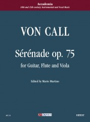 Call, Leonhard von : Sérénade Op. 75 for Guitar, Flute and Viola