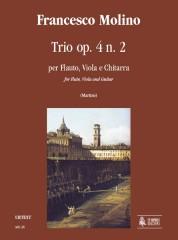 Molino, Francesco : Trio Op. 4 No. 2 for Flute, Viola and Guitar