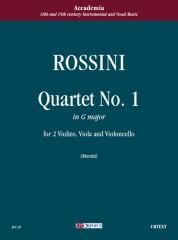 Rossini, Gioachino : Quartet No. 1 in G Major for 2 Violins, Viola and Violoncello