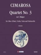 Cimarosa, Domenico : Quartet No. 3 in C Major for Oboe (Flute), Violin, Viola and Violoncello