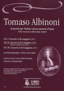 Albinoni, Tomaso : Violin Concertos without Opus Number for principal Violin, 2 Violins, Viola and Basso - Vol. 2: Concerto in C major, Co 2 (with variants Co 2a and Co 2b) [Score]