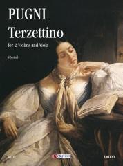 Pugni, Cesare : Terzettino for 2 Violins and Viola