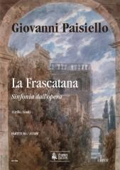 Paisiello, Giovanni : La Frascatana. Sinfonia [Score]