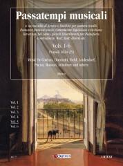 Passatempi Musicali - Vols. 1-6 (Naples 1824-25). Music by Cottrau, Donizetti, Field, Leidesdorf, Pacini, Rossini, Schubert and others - Vol. 5