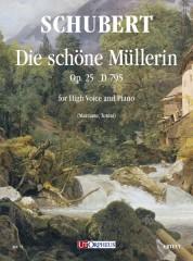 Schubert, Franz : Die schöne Müllerin Op. 25 D 795 for High Voice and Piano