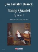 Dussek, Jan Ladislav : String Quartet Op. 60 No. 2