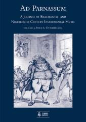 Ad Parnassum. A Journal on Eighteenth- and Nineteenth-Century Instrumental Music - Vol. 3 - No. 6 - October 2005