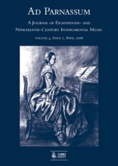 Ad Parnassum. A Journal on Eighteenth- and Nineteenth-Century Instrumental Music - Vol. 4 - No. 7 - April 2006