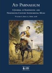 Ad Parnassum. A Journal on Eighteenth- and Nineteenth-Century Instrumental Music - Vol. 6 - No. 11 - April 2008