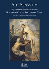 Ad Parnassum. A Journal on Eighteenth- and Nineteenth-Century Instrumental Music - Vol. 6 - No. 12 - October 2008