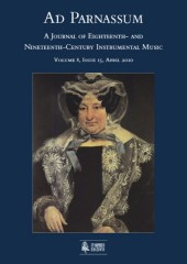 Ad Parnassum. A Journal on Eighteenth- and Nineteenth-Century Instrumental Music - Vol. 8 - No. 15 - April 2010