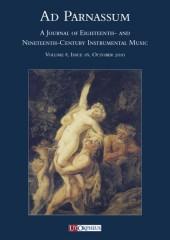 Ad Parnassum. A Journal on Eighteenth- and Nineteenth-Century Instrumental Music - Vol. 8 - No. 16 - October 2010
