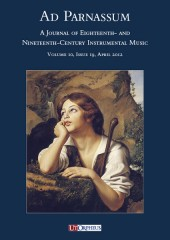 Ad Parnassum. A Journal on Eighteenth- and Nineteenth-Century Instrumental Music - Vol. 10 - No. 19 - April 2012