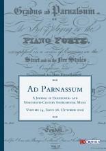 Ad Parnassum. A Journal on Eighteenth- and Nineteenth-Century Instrumental Music - Vol. 14 - No. 28 - October 2016