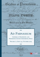 Ad Parnassum. A Journal on Eighteenth- and Nineteenth-Century Instrumental Music - Vol. 17 - No. 34 - October 2019