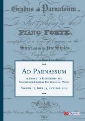 Ad Parnassum. A Journal on Eighteenth- and Nineteenth-Century Instrumental Music - Vol. 17 - No. 34 - October 2019