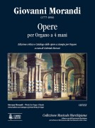 Morandi, Giovanni : Works for Organ 4 Hands. Critical Edition and Catalogue of printed Works for Organ
