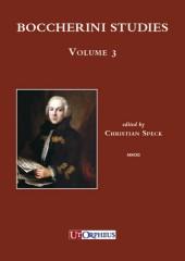 Boccherini Studies Vol. 3