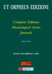 Complete Works, Musicological Series and Journals