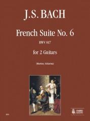 Bach, Johann Sebastian : French Suite No. 6 BWV 817 for 2 Guitars