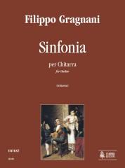 Gragnani, Filippo : Sinfonia for Guitar