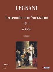 Legnani, Luigi : Terremoto con Variazioni Op. 1 for Guitar