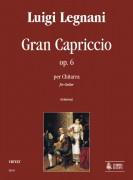 Legnani, Luigi : Gran Capriccio Op. 6 for Guitar