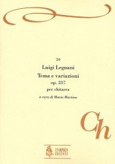 Legnani, Luigi : Theme and Variations Op. 237 for Guitar