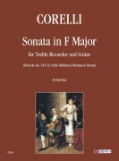 Corelli, Arcangelo : Sonata in F Major for Treble Recorder and Guitar