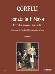 Corelli, Arcangelo : Sonata in F Major for Treble Recorder and Guitar