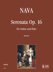 Nava, Antonio : Serenata Op. 16 for Guitar and Flute