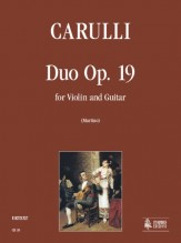 Carulli, Ferdinando : Duo Op. 19 for Violin and Guitar