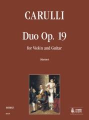 Carulli, Ferdinando : Duo Op. 19 for Violin and Guitar