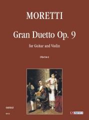 Moretti, Luigi : Gran Duetto Op. 9 for Guitar and Violin