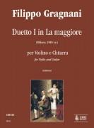 Gragnani, Filippo : Duet No. 1 in A Major for Violin and Guitar