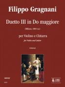 Gragnani, Filippo : Duet No. 3 in C Major for Violin and Guitar