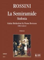 Rossini, Gioachino : La Semiramide. Sinfonia transcribed by Pietro Bottesini (19th century) for Guitar