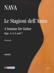 Nava, Antonio : Le Stagioni dell'Anno. 4 Sonatas for Guitar