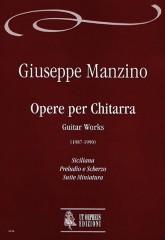 Manzino, Giuseppe : Guitar Works (1987-1990)