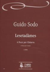 Sodo, Guido : Lesetadàmes. 4 Pieces for Guitar (1998)