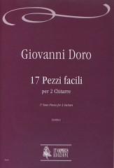 Doro, Giovanni : 17 Easy Pieces for 2 Guitars