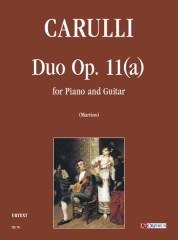 Carulli, Ferdinando : Duo Op. 11(a) for Piano and Guitar