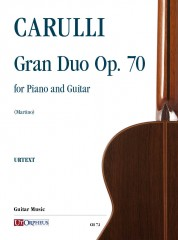 Carulli, Ferdinando : Gran Duo Op. 70 for Piano and Guitar