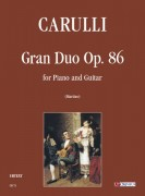Carulli, Ferdinando : Gran Duo Op. 86 for Piano and Guitar