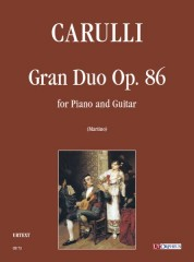 Carulli, Ferdinando : Gran Duo Op. 86 for Piano and Guitar