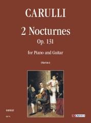 Carulli, Ferdinando : 2 Nocturnes Op. 131 for Piano and Guitar