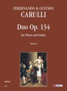 Carulli, Ferdinando - Carulli, Gustavo : Duo Op. 134 for Piano and Guitar
