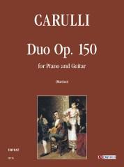Carulli, Ferdinando : Duo Op. 150 for Piano and Guitar