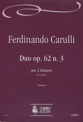 Carulli, Ferdinando : Duo Op. 62 No. 3 for 2 Guitars
